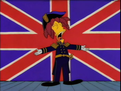 ♪ HE'S HARDLY EVER SICK AT SEA... ♪